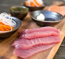 Day 16 - Scrumptious Sunday - Sashimi platter for two by Hege Nolan
