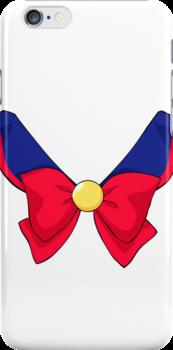 Sailor V Fuku iPhone Case by Oshiokiyo