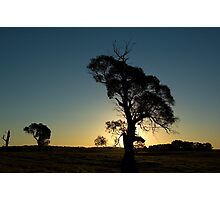 Sunset in the Southern Highlands Photographic Print