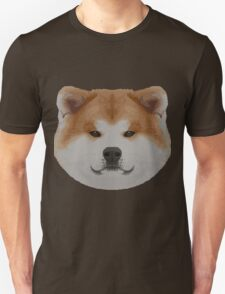 Knit Japanese Akita Face Unisex T-Shirt