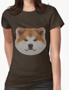 Knit Japanese Akita Face T-Shirt