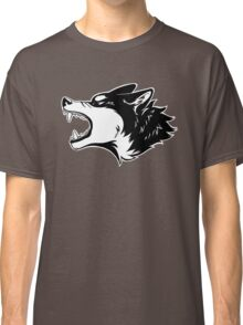 Angry Wolf Tee (White) Classic T-Shirt