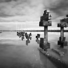 Deconstruction - Tooradin jetty by Jim Worrall