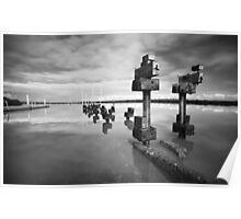 Deconstruction - Tooradin jetty Poster