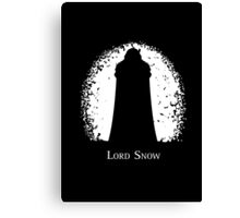 Lord Snow Canvas Print