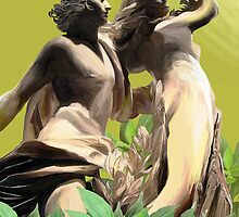 Apollo and Daphne by charlipadart