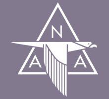 North American Aviation Logo (White) Kids Tee