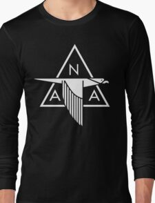 North American Aviation Logo (White) Long Sleeve T-Shirt