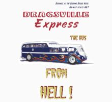 Dragster Bus white by bonchustown