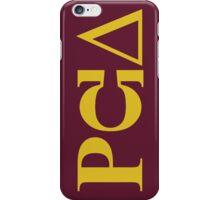PCU PC Principal iPhone Case/Skin
