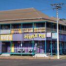 The Purple Pub, Normanton, North Queensland by Adrian Paul
