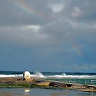 Rainbow over baths by Sherilyn Hawley