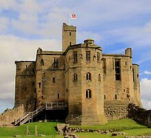 Warkworth Castle by Tom Curtis