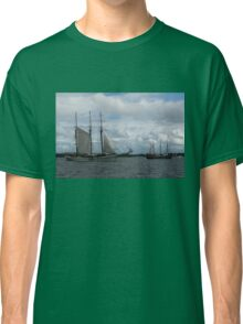 Tall Ships Sailing in the Harbor Classic T-Shirt