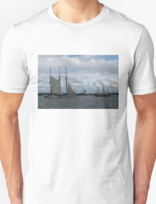 Tall Ships Sailing in the Harbor T-Shirt