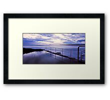 Sawtell Rock Pool Framed Print