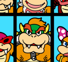The Bowser Bunch Sticker