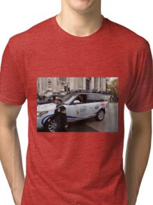 The Lord Mayor's Show in London is the world's largest unrehearsed procession Tri-blend T-Shirt