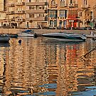Summer Reflections (St Julians Malta) by Edwin  Catania