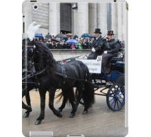 The Lord Mayor's Show in London is the world's largest unrehearsed procession iPad Case/Skin