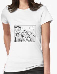 Saitama & Genos Womens Fitted T-Shirt
