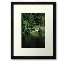 Lake Irene Dressed in Green Framed Print