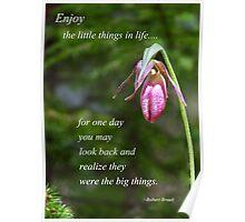 Enjoy Print Poster