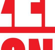ZEF ZONE Sticker