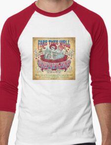 fare thee well - grateful dead Men's Baseball ¾ T-Shirt