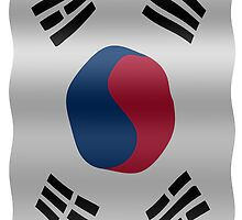 Korean flag by stuwdamdorp