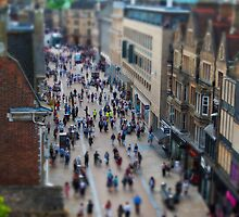 A birds Eye View of Oxford by RecklessTimes