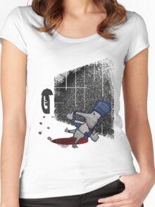 Like man..nooooo Women's Fitted Scoop T-Shirt