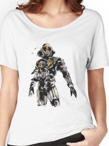 Kamen Rider Ghost Paint Women's Relaxed Fit T-Shirt