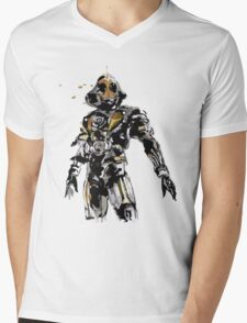 Kamen Rider Ghost Paint Mens V-Neck T-Shirt