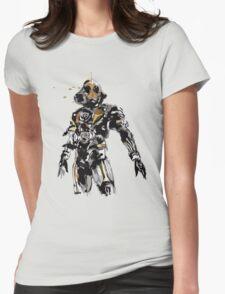 Kamen Rider Ghost Paint Womens Fitted T-Shirt