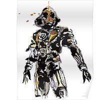 Kamen Rider Ghost Paint Poster
