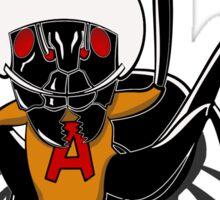 An atomic ant. Sticker