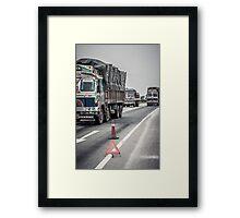 Lets Truck It Framed Print