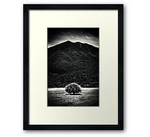 The tree and the Giant Framed Print
