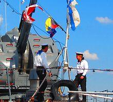Моряки говорят «Что мы будем делать?» by M-EK