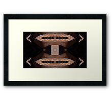 Medieval Fixed Compass Framed Print