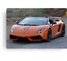 Lamborghini Gallardo LP570-4 Spyder Performante - Front Canvas Print