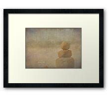vintage rock Framed Print