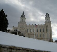 Manti, Utah Temple by jeffreynelsd