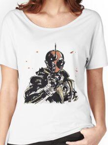 Kamen Rider Ghost Paint Henshin Women's Relaxed Fit T-Shirt