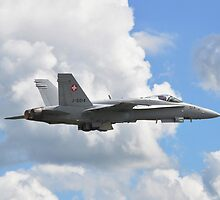 Swiss F-18 @ Waddington Airshow 2012 by merlin676