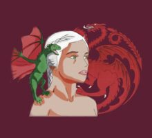 Daenerys Targaryen Mother of Dragons by Tomer Abadi