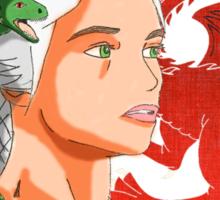 Daenerys Targaryen Mother of Dragons Sticker