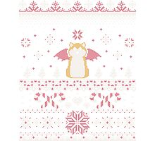 Ugly Holiday Sweater (Pink) Photographic Print