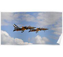 Black Eagles Takeoff Poster